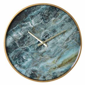Lagoon Marbled Wall Clock, , large