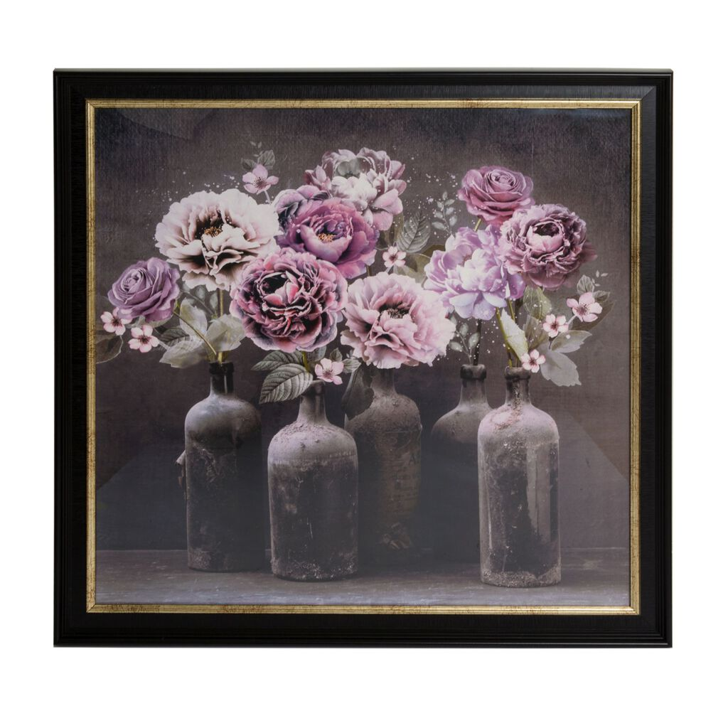 Gerahmte Kunst Bloom Floral, , large