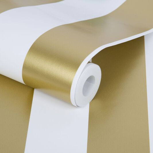 Gold Stripe Wallpaper, , large