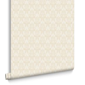 Renaissance Neutral Wallpaper, , large
