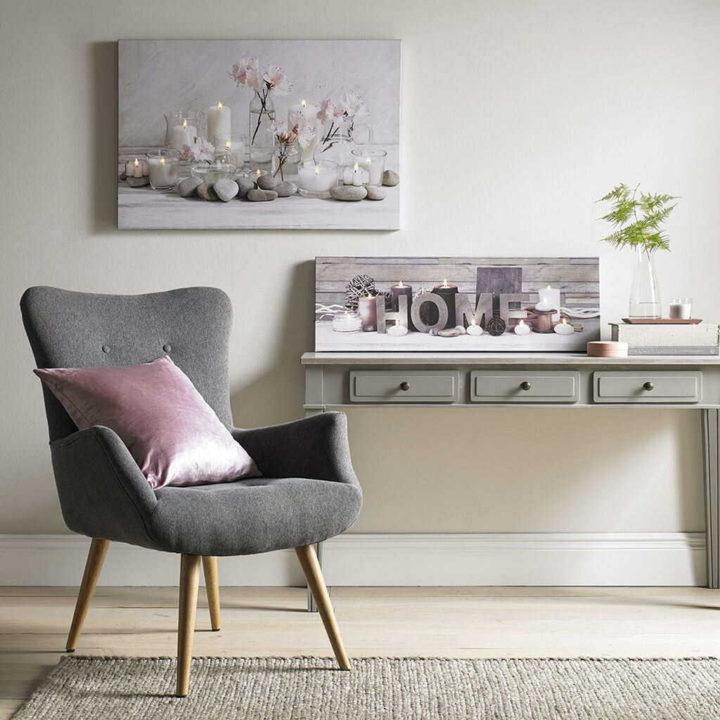 Tranquil Home LED Canvas Wall Art, , large