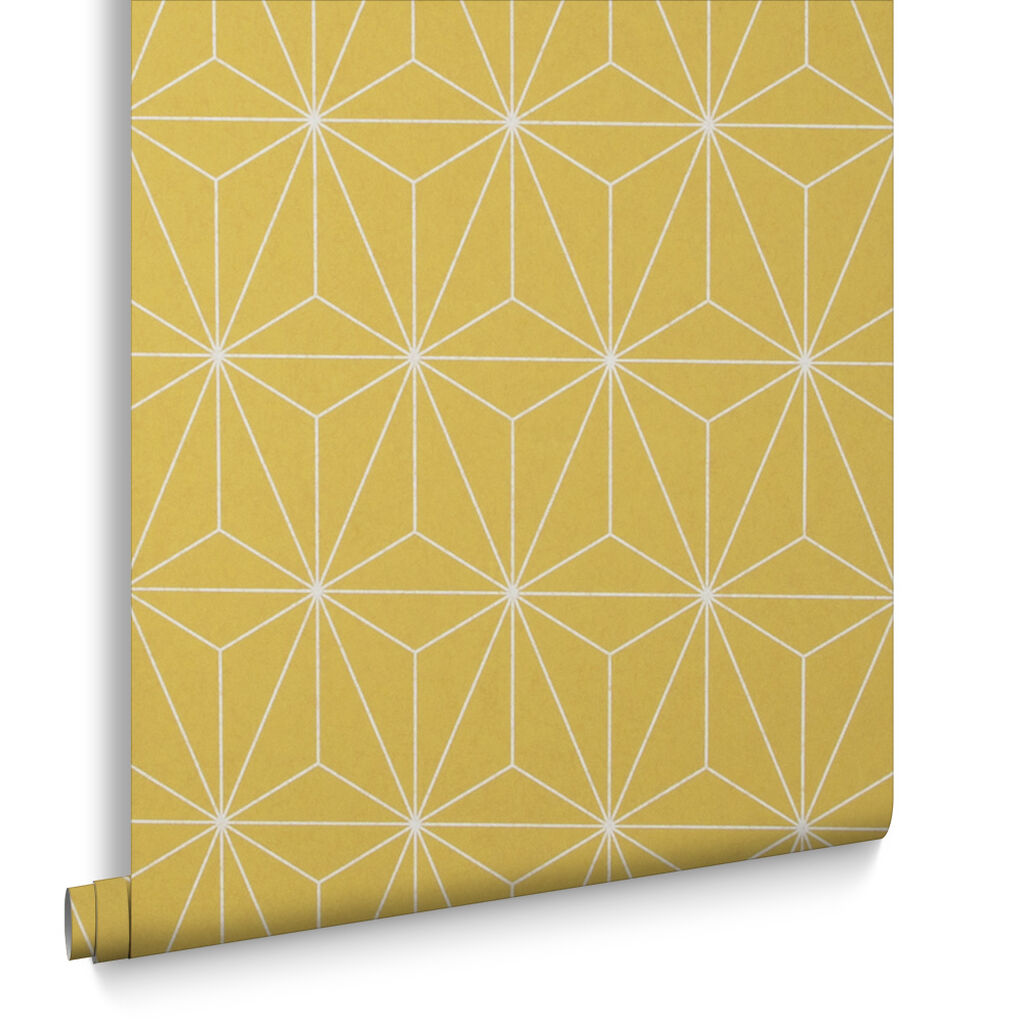 prism yellow wallpaper grahambrownuk. Black Bedroom Furniture Sets. Home Design Ideas