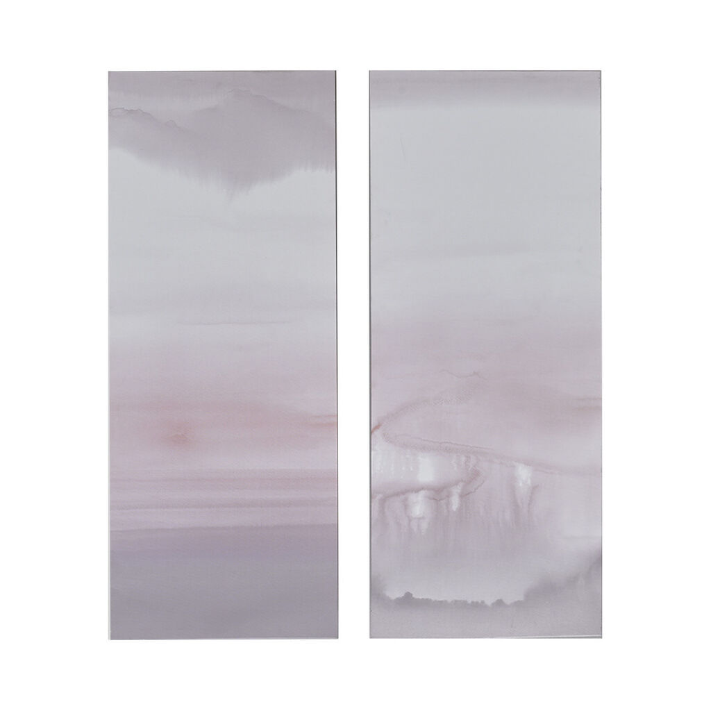 Harmony Blush Haze Printed Canvas Wall Art, , large