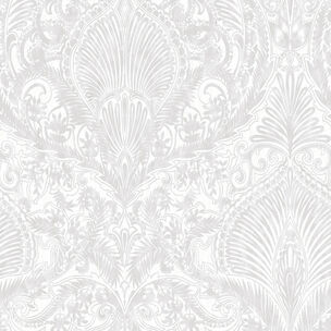 Burlesque White Wallpaper, , large