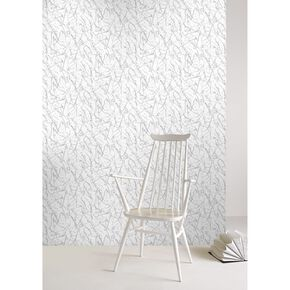 Splatter Silver Wallpaper, , large