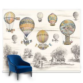 Fotobehang Couture Balloon Race, , large