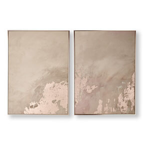Rose Gold Serenity Framed Wall Art, , large