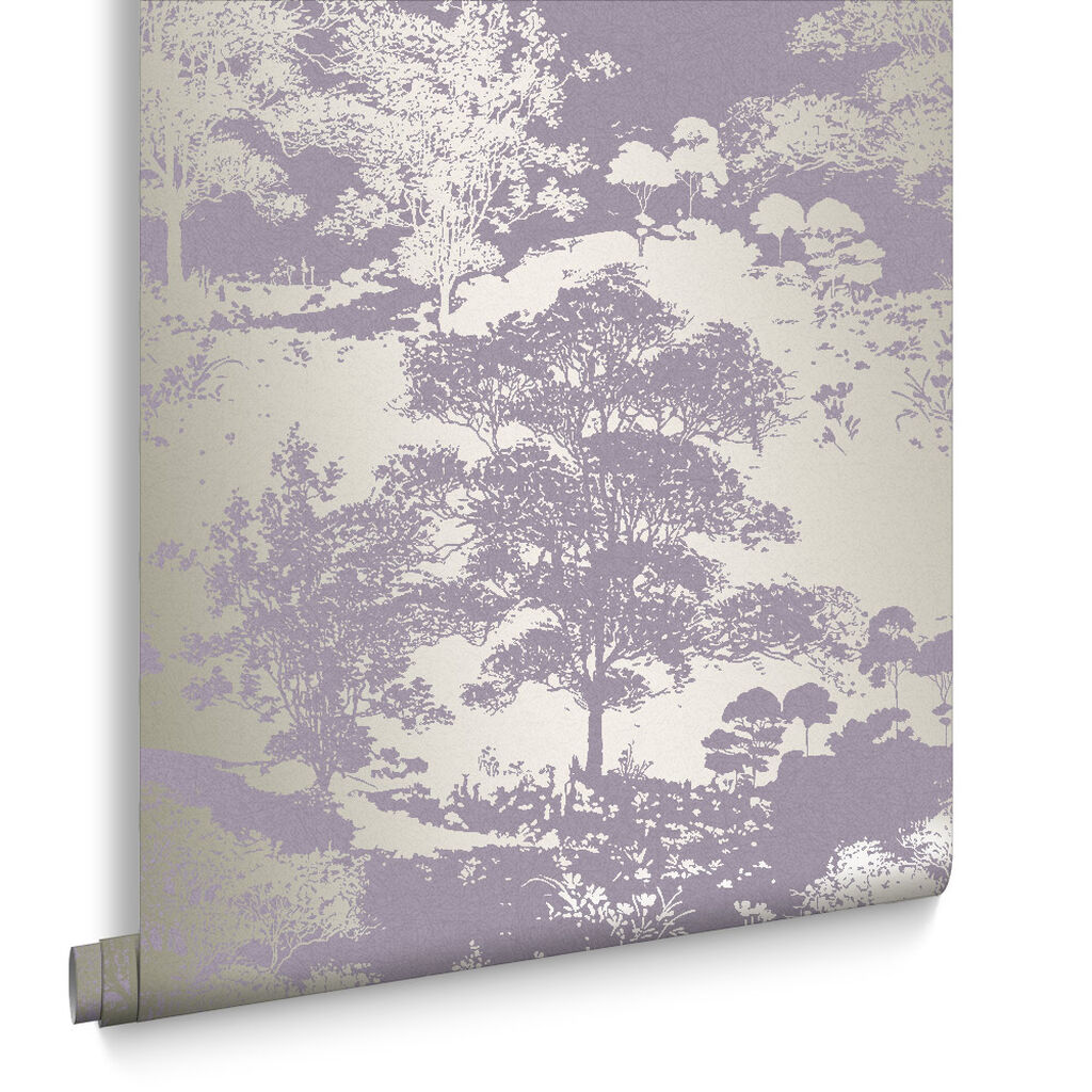Meadow Bluebell Behang, , large