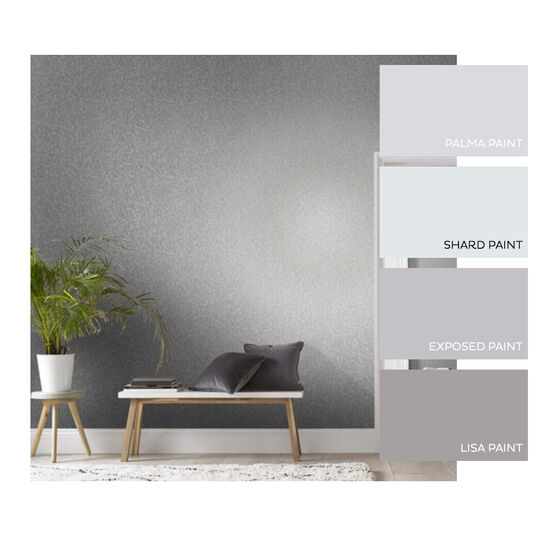 Trinity Silver Wallpaper, , large