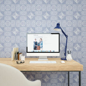 Wonder Blue Wallpaper, , large