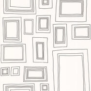 Frames Black and White Wallpaper, , large