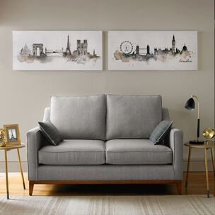Bedruckte Leinwand London Aquarell, , large