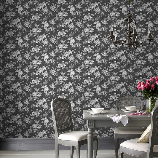 Muse Noir Wallpaper, , large