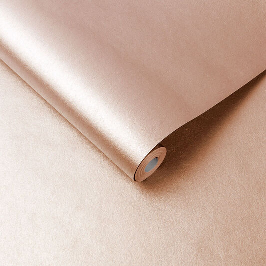 Tranquil Rose Gold Wallpaper, , large