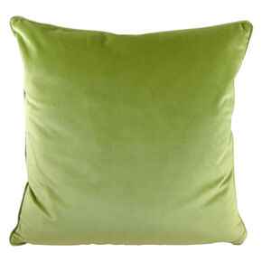 Olive Green Opulence Cushion, , large
