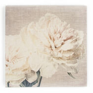 Cream Petals Fabric Canvas Wall Art, , large