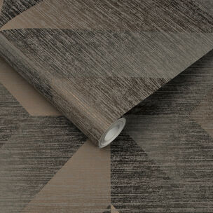 Atelier Geo Bronze Wallpaper, , large