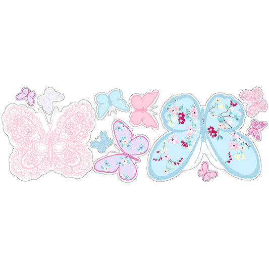 Stickers Muraux Butterfly, , large