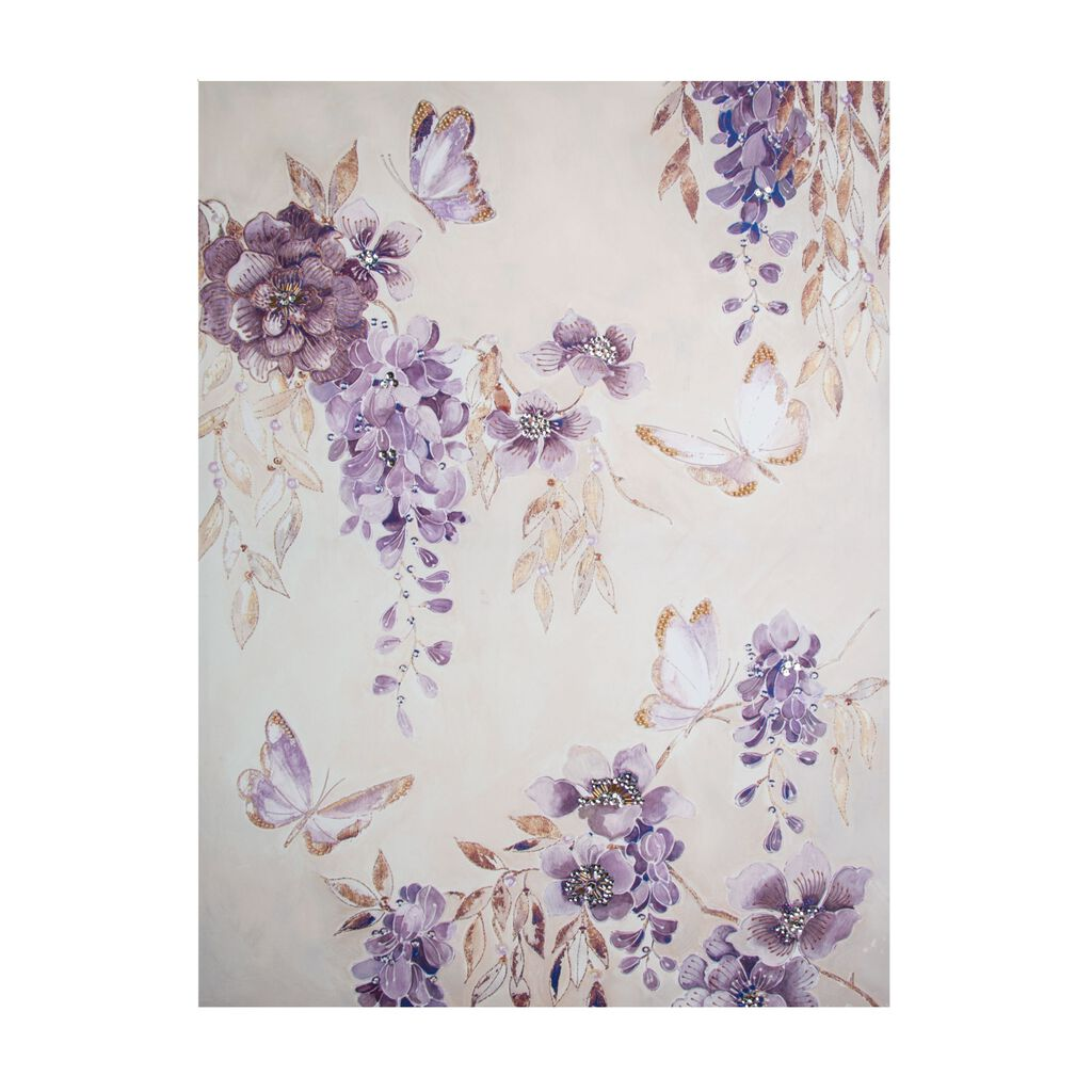 Toile Imprimée Butterfly Bloom, , large