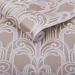 Art Deco Rose Gold Wallpaper