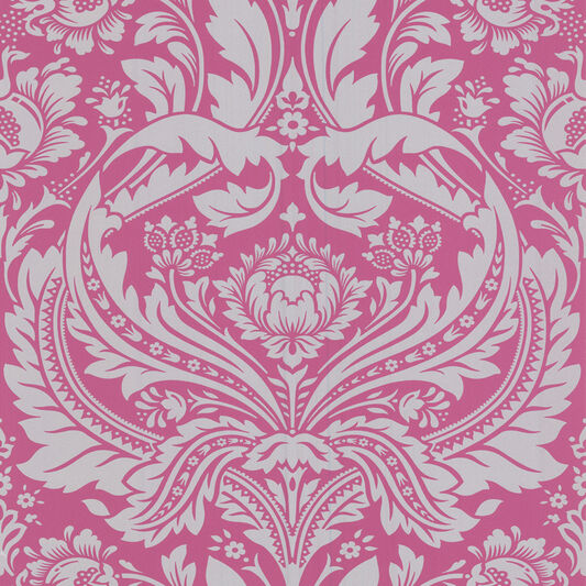 Desire pink wallpaper pink silver wallpaper for Bright pink wallpaper uk