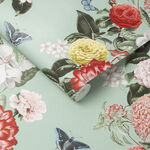 Bloomsbury Neo Mint Wallpaper