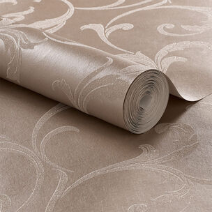 Baroque Bead Champagne Wallpaper, , large
