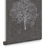 Enchant Black Wallpaper, , large