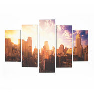 Good Morning New York Printed Canvas Wall Art , , large