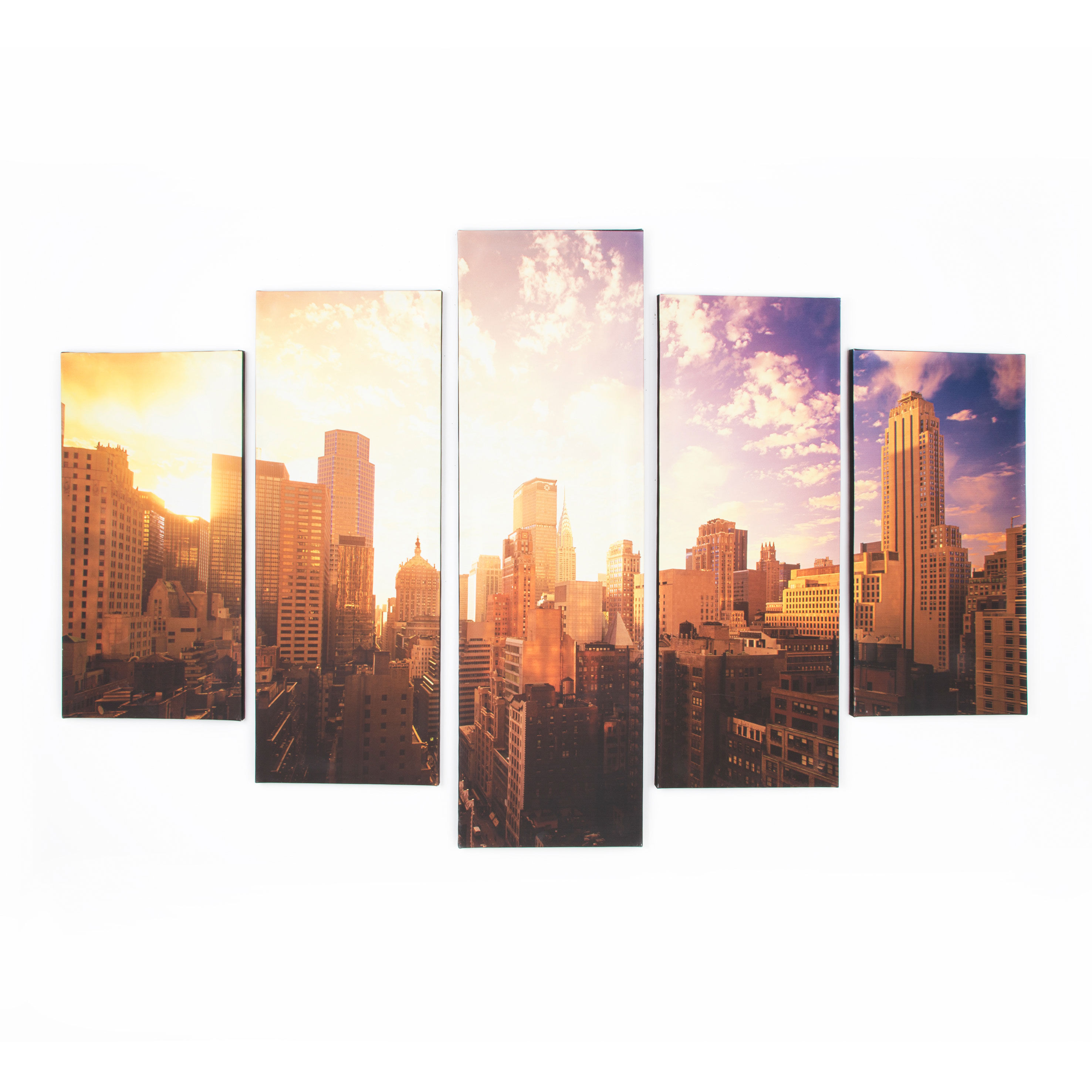 Good Morning New York Printed Canvas, ...