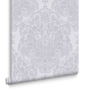 Melody Lilac Wallpaper, , large
