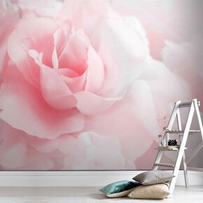 Pink Rose Ready Made Mural, , large