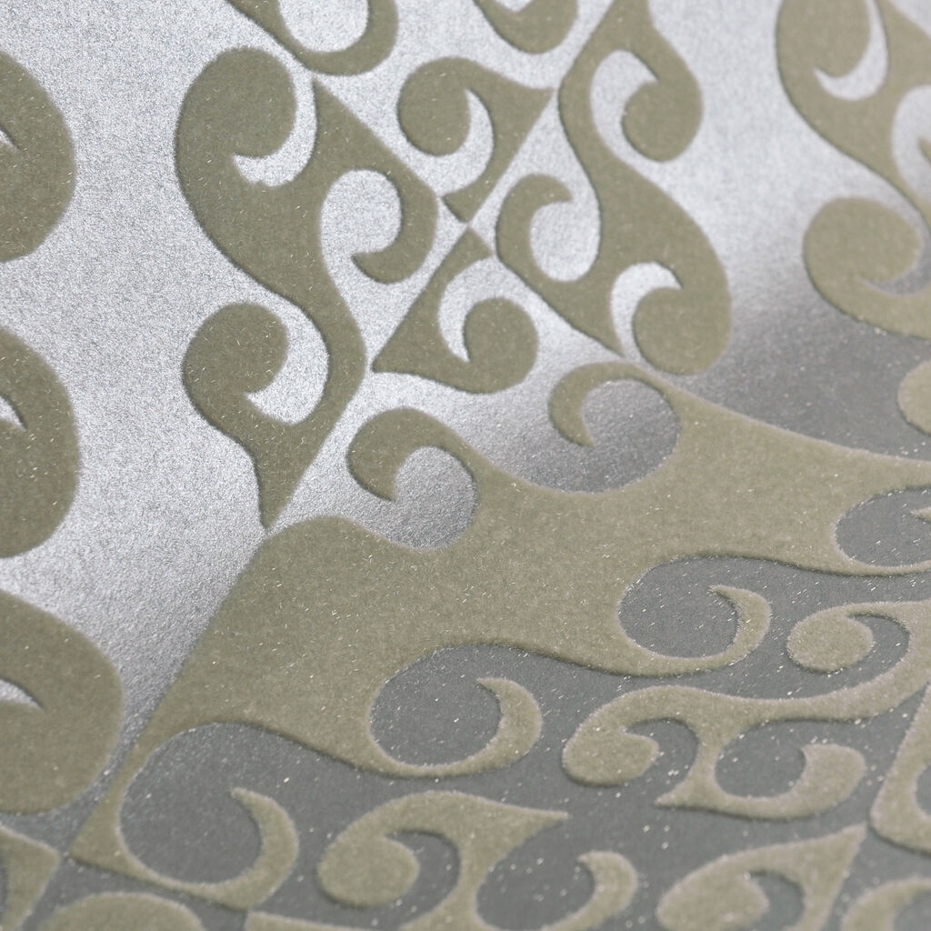 Taupe Twist Wallpaper, , large