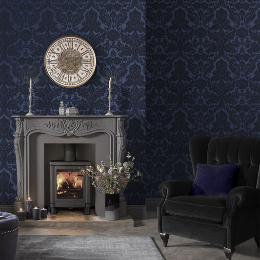 Gothic Wallpaper For Walls Gothic Damask Wallpaper Wall
