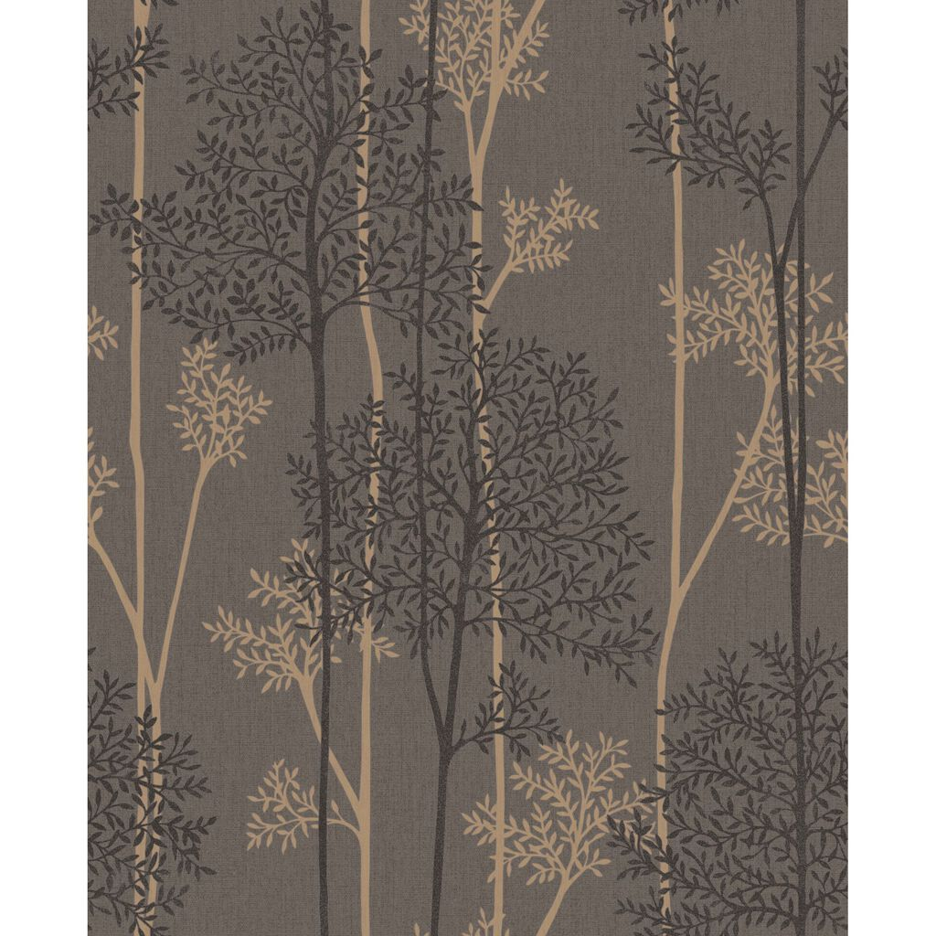 Eternal Chocolate and Bronze Wallpaper, , large