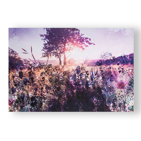 Layered Landscape Printed Canvas Wall Art , , large