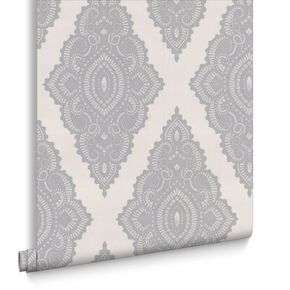 Jewel Pearl and Silver Wallpaper , , large