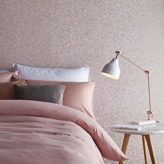 Trinity Soft Rose Gold Wallpaper, , large