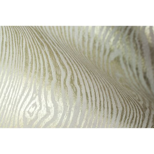 Cypress Beige and Gold Wallpaper, , large