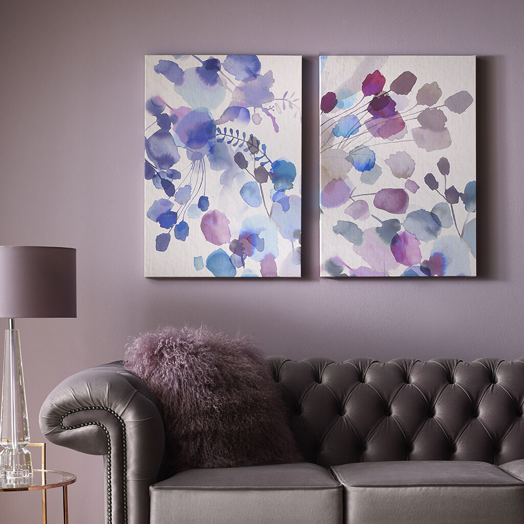 Expressive Blooms Printed Canvas Wall Art, , large
