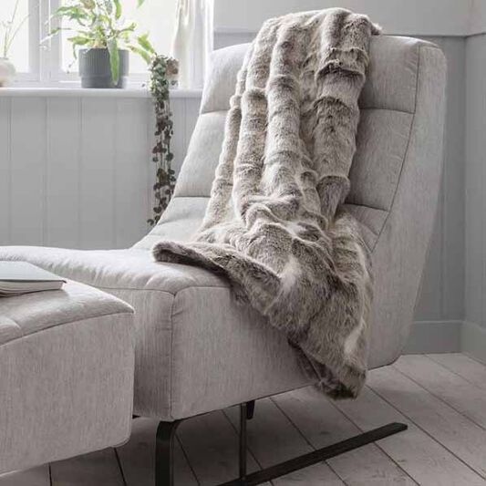 Cosy Hygge Webpelz Decke, , large