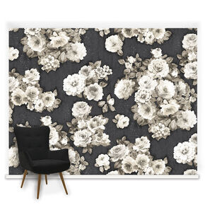 Kelly Floral Ready Made Mural, , large