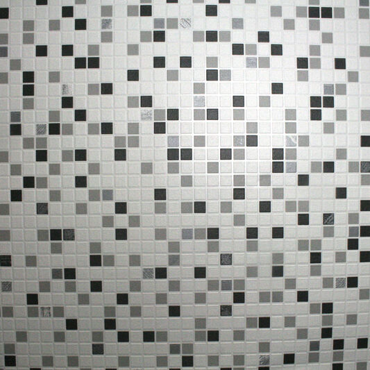 Checkered Black And White Wallpaper, , large