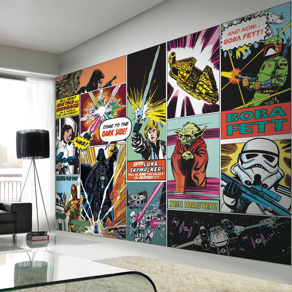 Digital Mural Star Wars Graham Brown