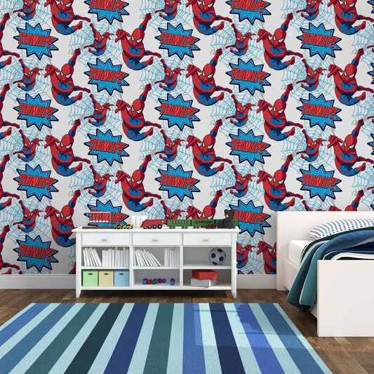 Spiderman Wallpaper For Bedroom: Graham & Brown