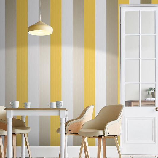Figaro Yellow Wallpaper, , large