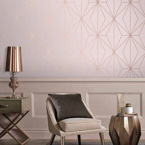 Harmony Blush Wallpaper, , large