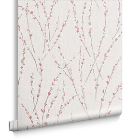 Floret Cherry Wallpaper, , large
