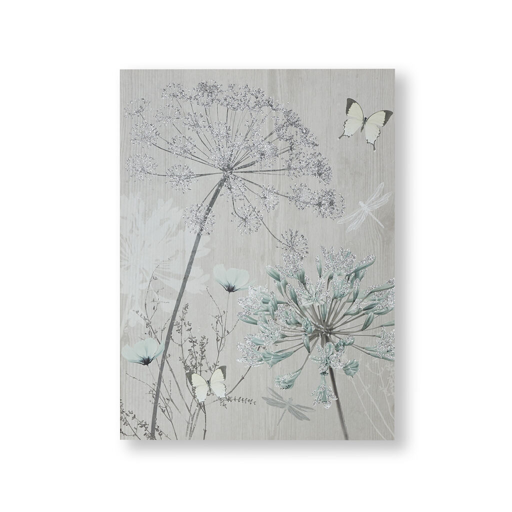 Harmony Blooms Canvas Wall Art, , large