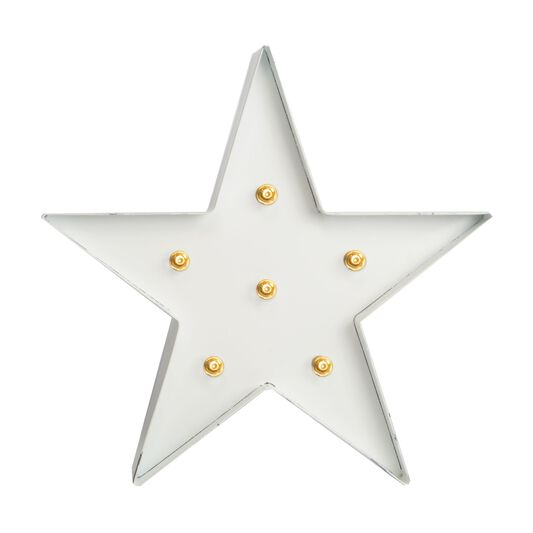 White Light Star  Metal Art, , large